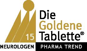 Biogen gewinnt die Goldene Tablette 2015 der Neurologen / Psychiater