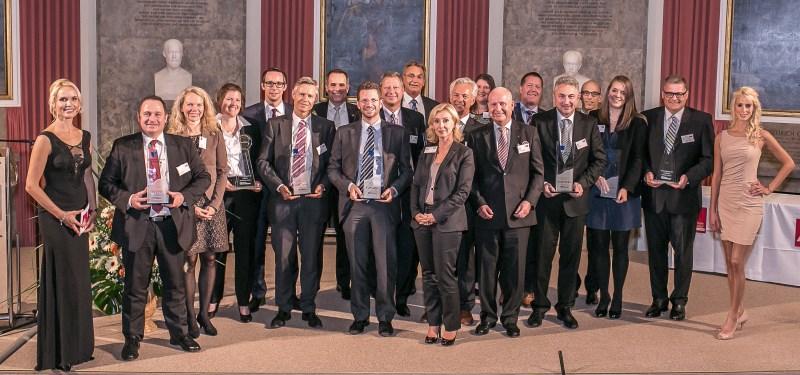 Preisträger der Goldenen Tablette 2015 und das innovativste Produkt