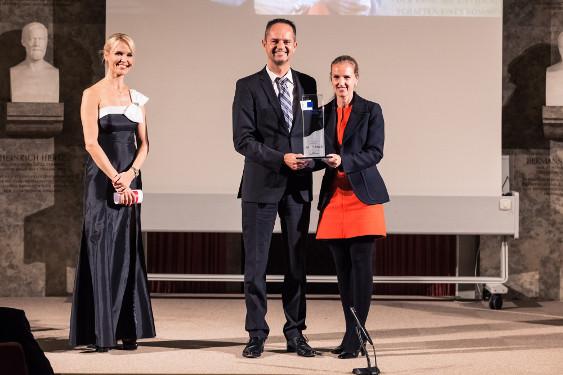 Dr. Angela Peiter, Boehringer Ingelheim, und Dr. Jürgen Kestler, Lilly