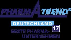 Pharma Trend Ranking der besten Pharma-Unternehmen 2017.