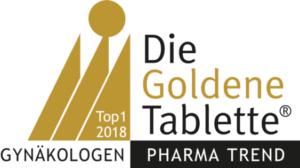Goldene Tablette Gynäkologen 2018