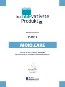 Moio.care: das Innovativste Produkt im Pharma Trend Startups Top 3