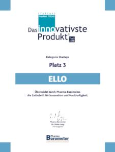 ello – Der elektrische Rollator: das Innovativste Produkt im Pharma Trend Startups Top 3