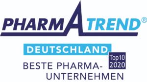 Pfizer steht auf Platz 10 im Pharma Trend Ranking 2020