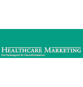 Healthcare Marketing Logo weiß